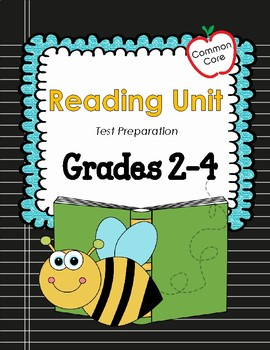 Common Core Reading Mini Lessons Test Preparation Grade 2-4