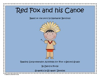 Native Americans- Red Fox & His Canoe