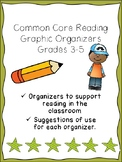Common Core Reading Organizers 3-5