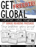 Common Core Reading Passages for First Grade: FREEBIE