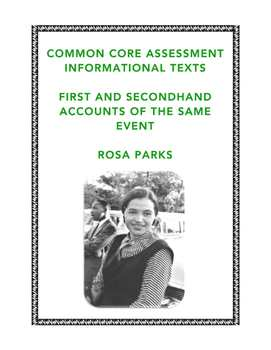 Common Core-Aligned Reading: Firsthand and Secondhand Informational Texts