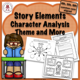 Story Elements - Character Analysis, Theme and More