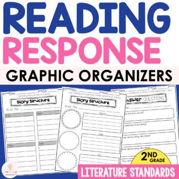 Common Core Reading Response Activities | 2nd Grade