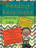 Common Core Reading Response Printables  Fiction & Non-Fiction & 40 posters K-3