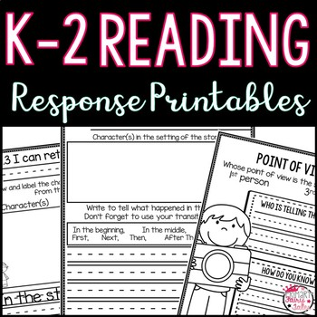 Common Core Reading Responses (K-2)