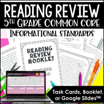 5th Grade Reading Review (Informational)