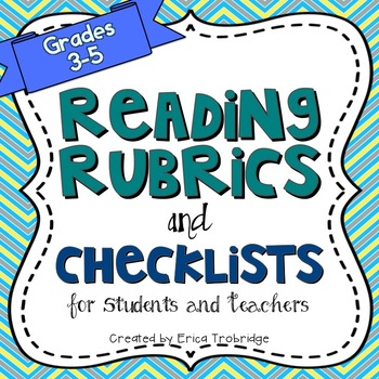 Common Core Reading Rubrics & Checklists {Fiction and Nonfiction}
