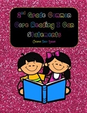 """Common Core Reading Standards """"I Can"""""""