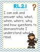 "Common Core Reading Standards ""I Can"""