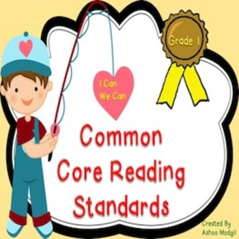 Common Core Reading Standards for Grade 1