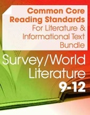 CCSS Reading: Literature and Informational Text Bundle--World Lit (Gr. 9-12)