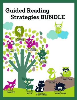 Guided Reading Strategies BUNDLE