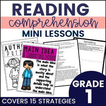 Reading Strategy Mini Lessons {1st Grade}