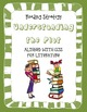Common Core Reading Strategy Plot Activity and Rubric