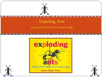 Common Core Reading Street Exploding Ants