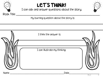 Common Core Reading:  Teaching 1st graders how to think about reading literature