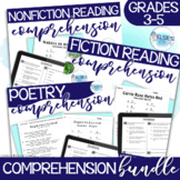 Reading Test Prep - BUNDLE of BEST SELLERS - Common Core Aligned - Grades 3-5