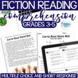 Reading Test Prep - FICTION - Common Core Aligned - Grades 3-5