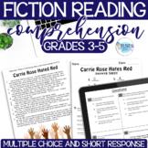 Reading Test Prep - FICTION - Common Core Aligned - Grades 3-5