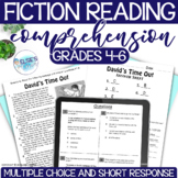 Reading Comprehension Test Prep - Fiction - grades 4-6 - Common Core