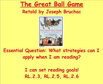 "Common Core Reading ""The Great Ball Game"" CREEK Native American Unit"