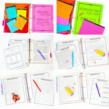 Reading Resources   4th and 5th Grade Common Core Reading Activities