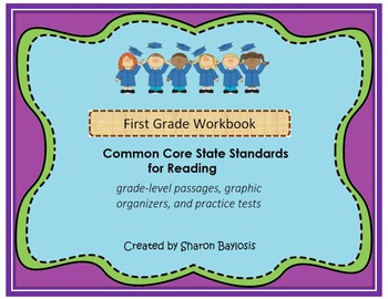 Common Core Reading Workbook for 1st Grade (Graphic Organi