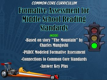 Common Core Reading / Writing Formative Assessment