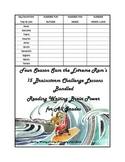 Early Finisher productive thinking/sorting/reading printables