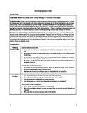 Common Core Reading & Writing Workshop Unit Plan Q1, Unit 1 First Grade
