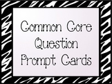 Common Core Reading/Phonics Question Prompt Task Cards Fir