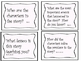 Common Core Reading/Phonics Question Prompt Task Cards Pink Dots
