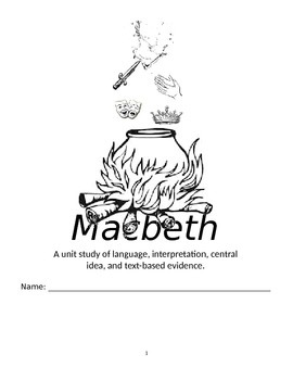 Common Core Ready: Macbeth Study Guide