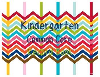 Common Core Record Book for Kindergarten