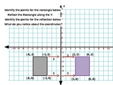 Common Core: Reflections on the Cartesian Coordinate Plane