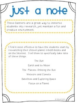 NGSS Solar System Research Project