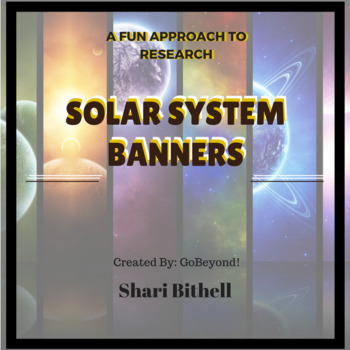 Next Generation Science Research Banner -Solar System Report