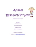 Common Core Research Project on Animals