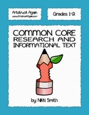 Common Core Research and Informational Text