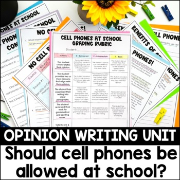 Common Core Resource: Analyze Two Accounts of the Same Topic - Cell Phones