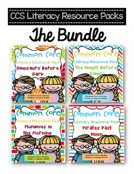 Common Core Resource Pack for Books 1-4 Magic Tree House