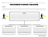 Common Core Resource: Reading Graphic Organizer for Using