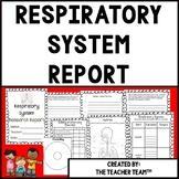 Respiratory System Human BodyResearch Report