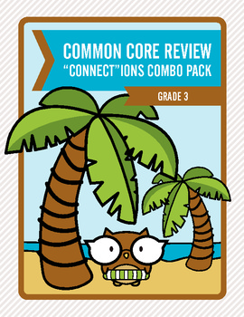 "Common Core Review ""Connect""ions Combo Pack:  Grade 3"