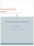 Common Core Review Intermediate Grades