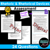 Rhetoric / Rhetorical Device Assessment