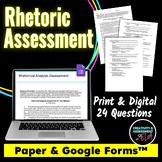 Rhetoric / Rhetorical Device Assessment