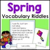 Spring Vocabulary Riddles