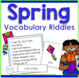 Spring Vocabulary Riddles