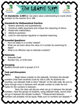 Common Core Rounding Lesson